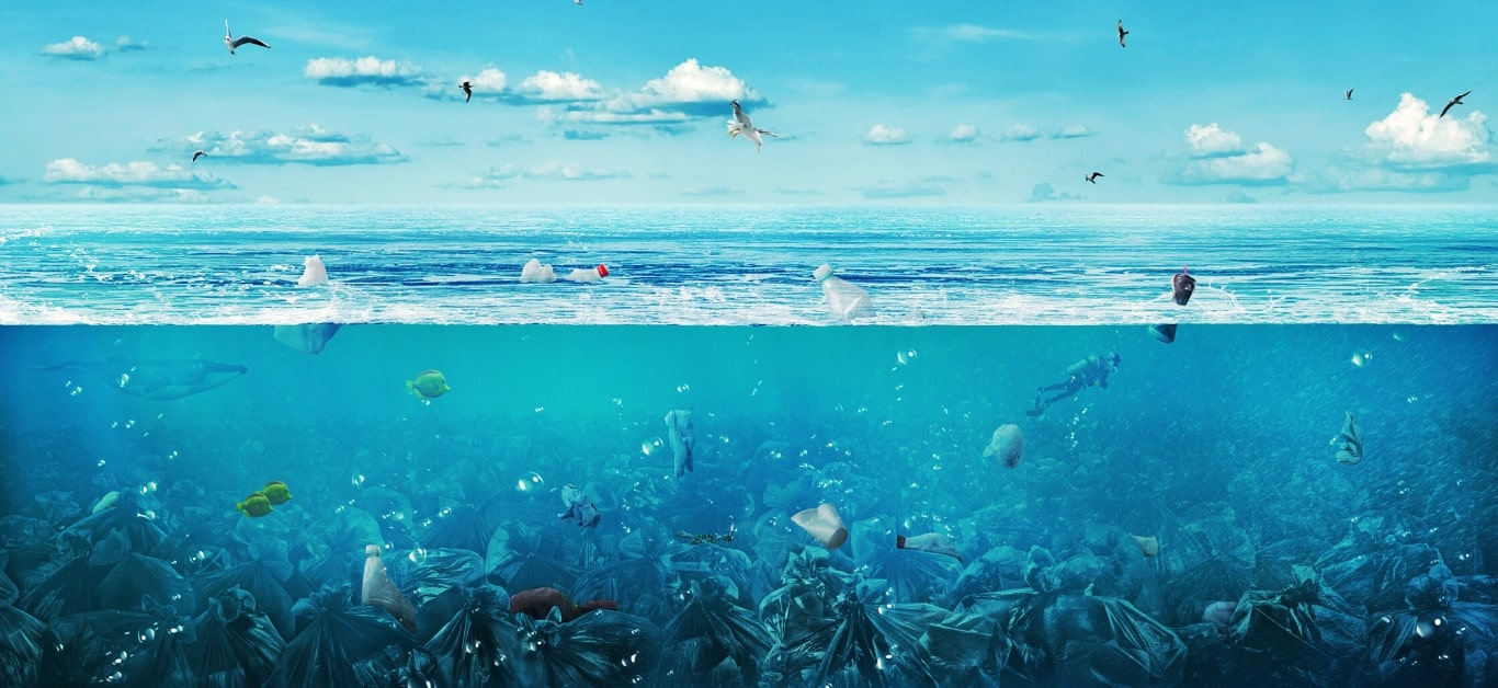 Ocean ze śmieciami